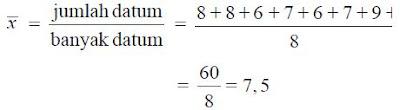 Cara Menghitung Nilai Rata-Rata