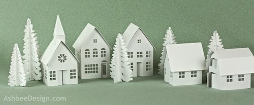 Tea Light Village Is A Tiny Series Of Buildings Designed Specifically To Fit Over Tiny Led Tea Lights So Readily Available These Days