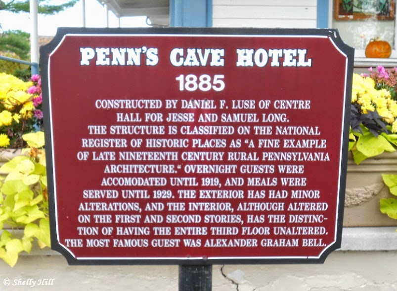 Penn's Cave House in Centre Hall Pennsylvania