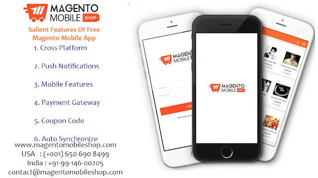 Magento Mobile Shop: Free Magento Mobile App FeaturesMobile