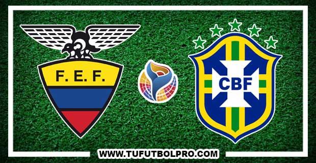 Ver Ecuador vs Brasil EN VIVO Por Internet Hoy 30 de Enero 2017