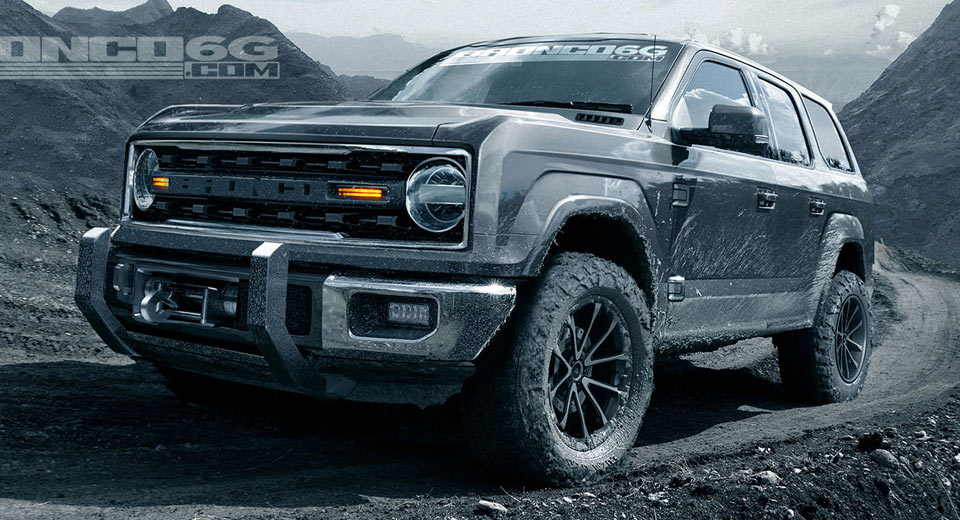 Ford Bronco to channel Jeep Wrangler, offer turbo V-6 and hybrid