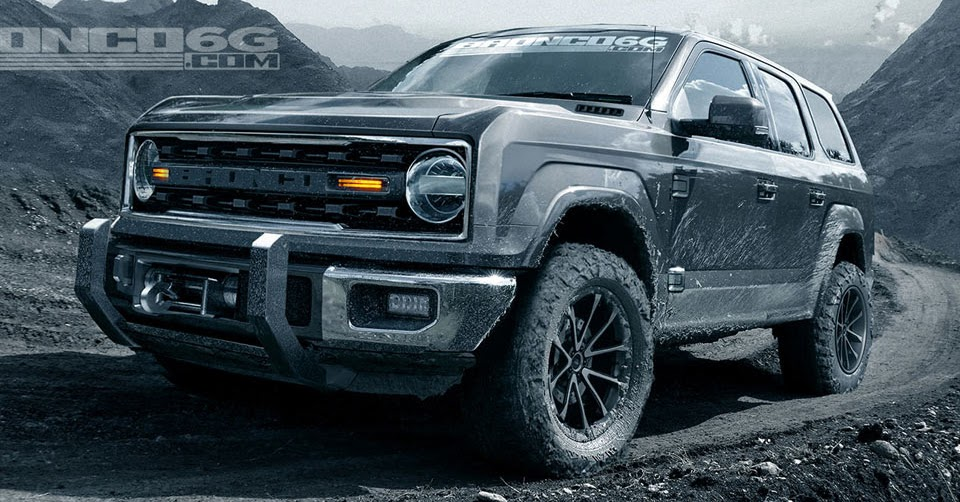 2020 Ford Bronco May Get 325 Hp V6