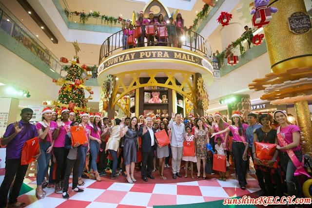 Dreams are Brought To Life at Santa's Toy Factory at Sunway Putra Mall