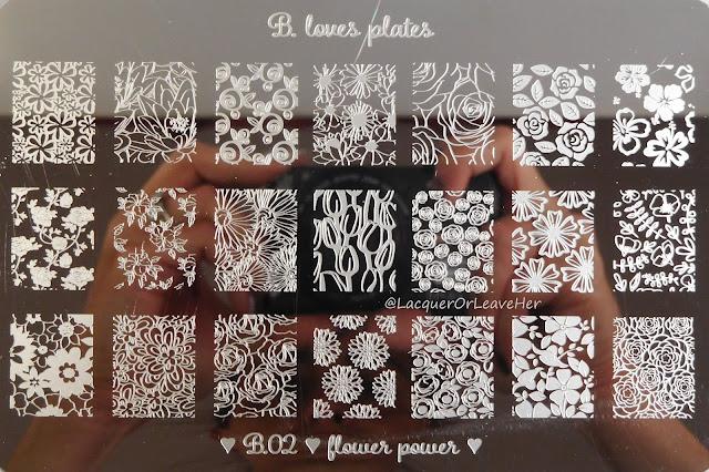 B. Loves Plates B.02 Flower Power
