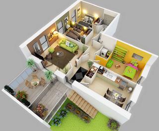 Pembuatan Denah Rumah
