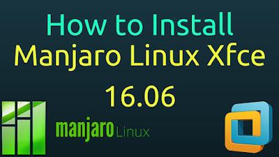 Manjaro Linux 16.06 Xfce
