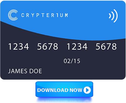 كوبون للحصول على بطاقة ماستر Crypterium مجانا