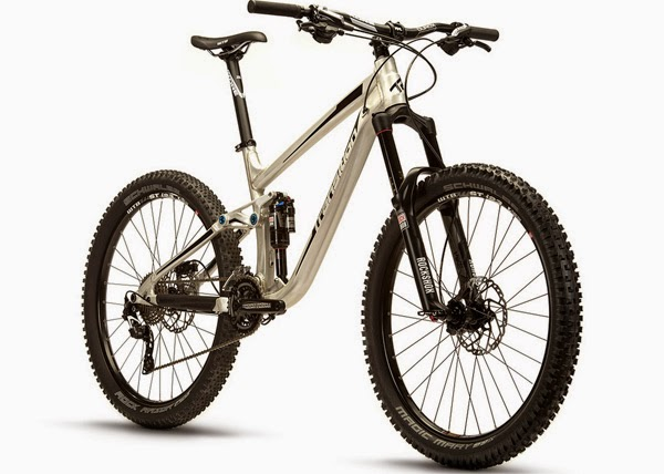 2015 Transition Bikes Suppressor Raw Alloy
