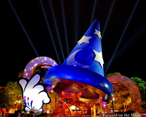 The Sorcerer's Hat which used to be in Disney's Hollywood Studios.