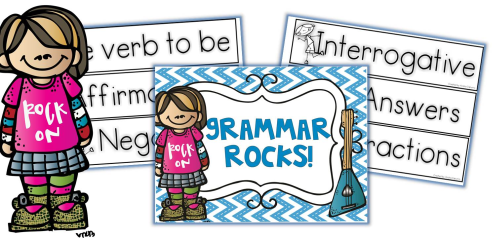 Grammar Rocks! { Free Pack }