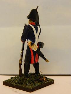 Fusilero del Regimiento Fijo de Buenos Aires en 1806, por Osvaldo Verón