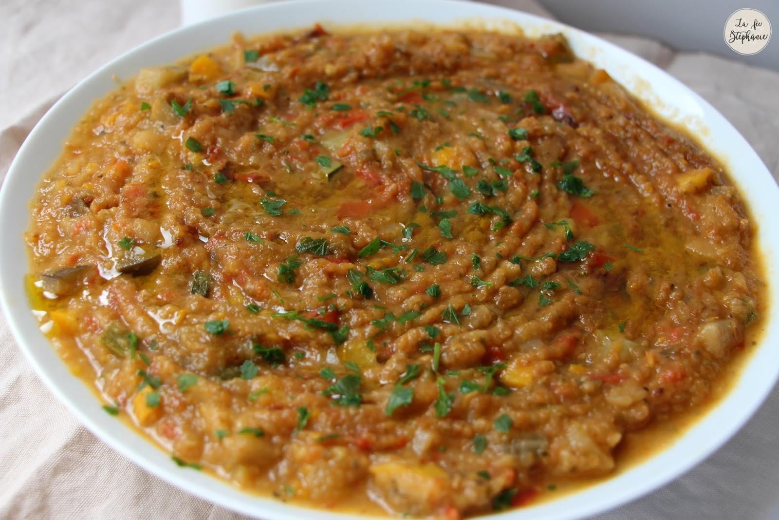 Recette de zaalouk d 39 aubergines la marocaine cuisson - Cuisiner l aubergine facile ...