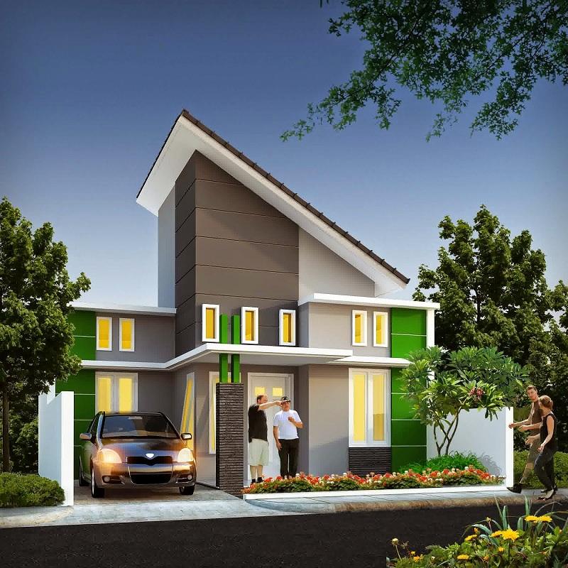 38 Gambar Rumah Minimalis Atap 3, Ide Instimewa!