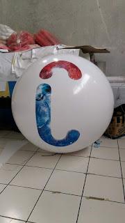 tempat produksi balon pantai bentuk bulat bola