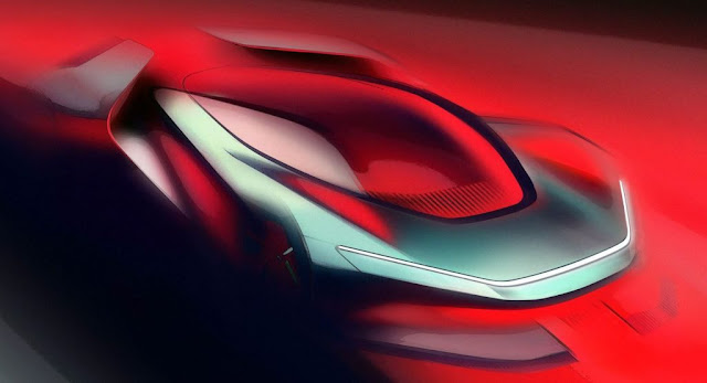 Automobili Pininfarina Previews The Promising New PF0 Electric Hypercar