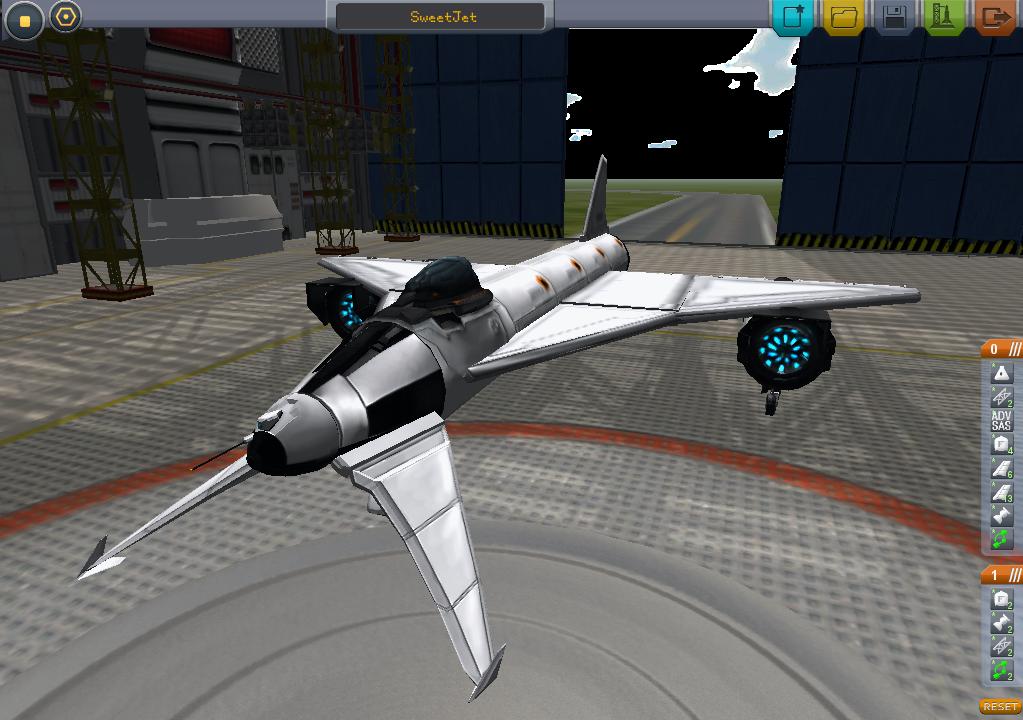 Kerbal Space Program Blog: Super Sonic Jet: Reaching Mach 3