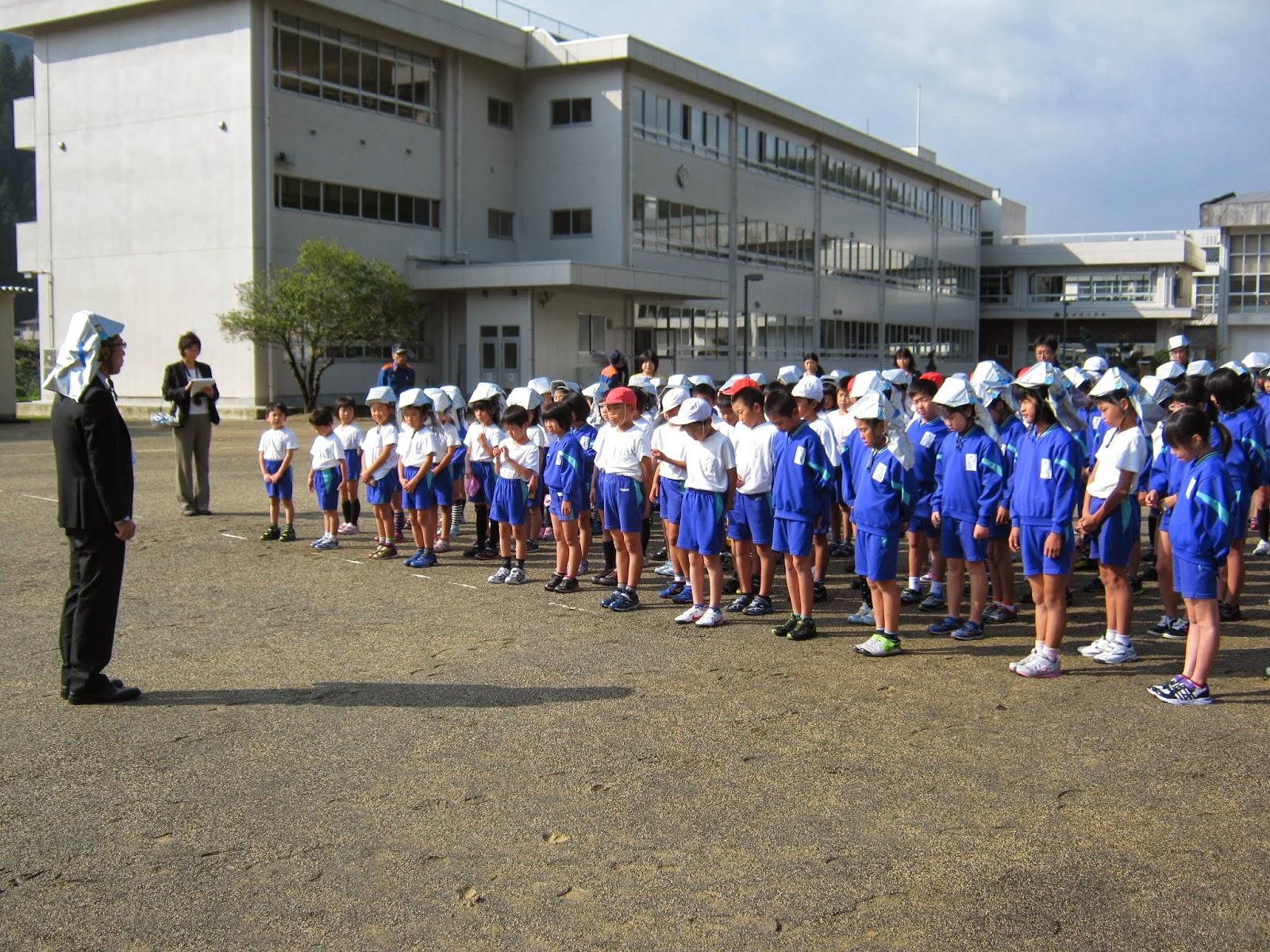 おおい町立名田庄小学校: 避難訓練がありました。 おおい町立名田庄小学... おおい町立名田庄小