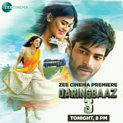 Daringbaaz 3 (Mister) 2017 Hindi Dubbed 480p WEBRip 400MB