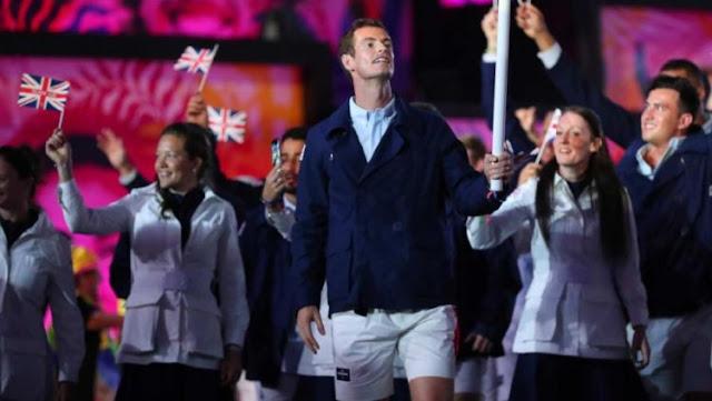 Kostum Pembukaan Inggris di Olimpiade RIO 2016