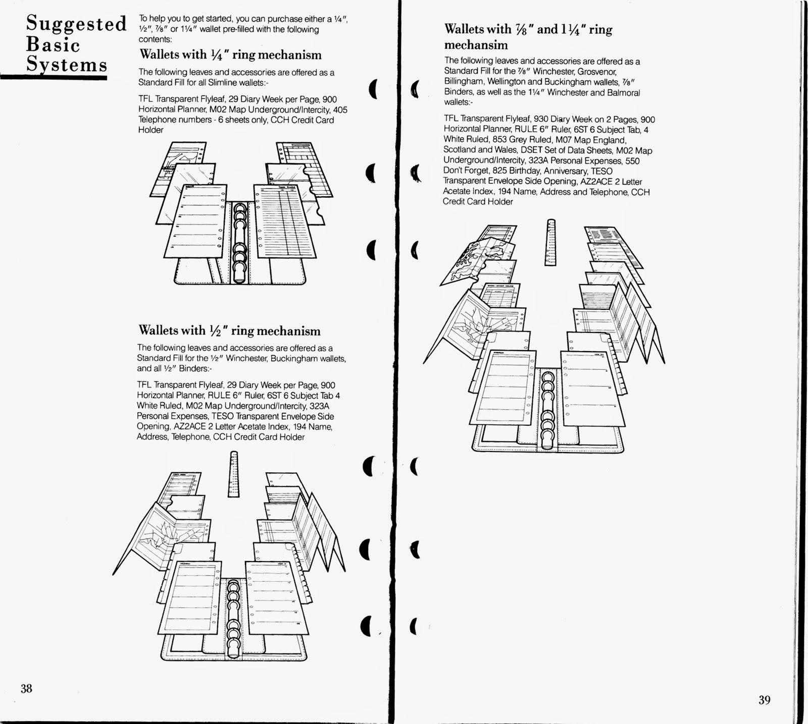 Philofaxy Filofax  Catalogue
