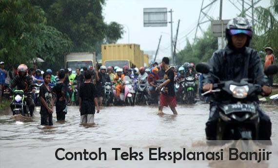 Contoh Teks Eksplanasi Banjir