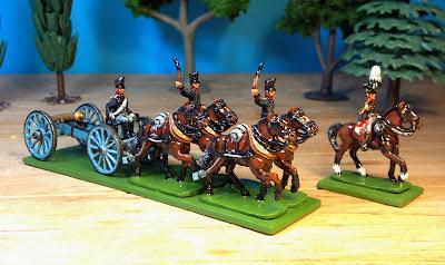 Hinton Hunt Prussian Field Artillery