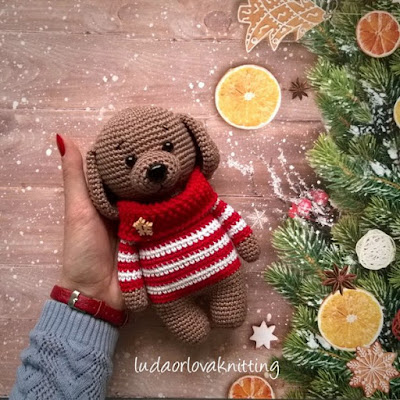 Amigurumi Sweet Dog-Free Pattern - Amigurumi Free Patterns