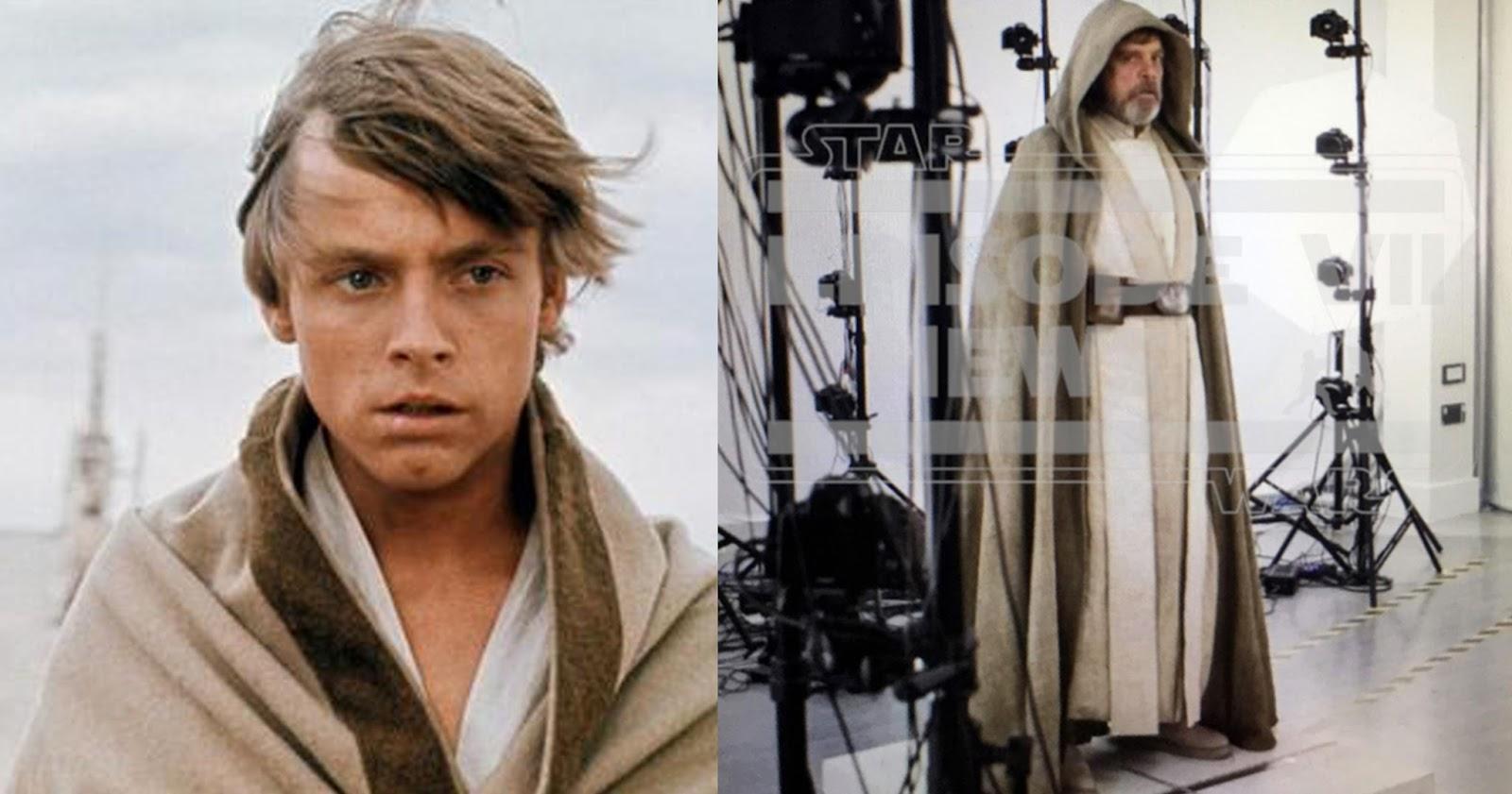 THE FINE ART DINER: First Look At Luke Skywalker's Costume ...