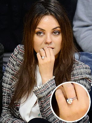 New Fashion Arrivals Us Best Celebrity Engagement Rings 2014