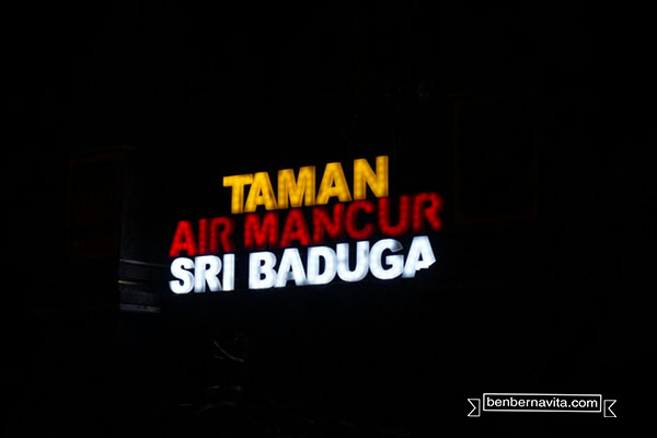taman air mancur sri baduga