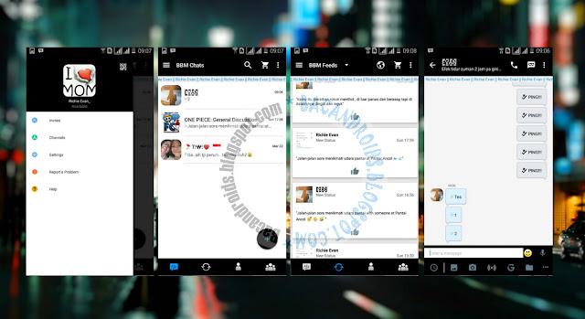 download BBM Mod Thema Seperti BB Versi Terbaru 2.13