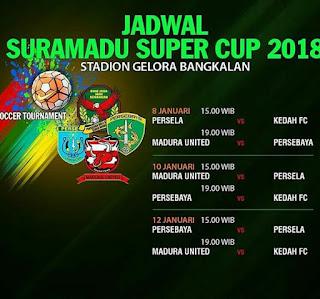 Jadwal Suramadu Cup 2018