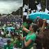 WATCH: Libo-libung Duterte Supporters Dumagsa na sa Harap ng Batasang Pambansa