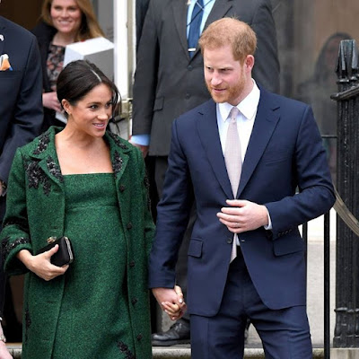 Prince Harry and Meghan welcome a baby boy