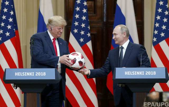 Путін подарував Трампу м'яч з передавачем