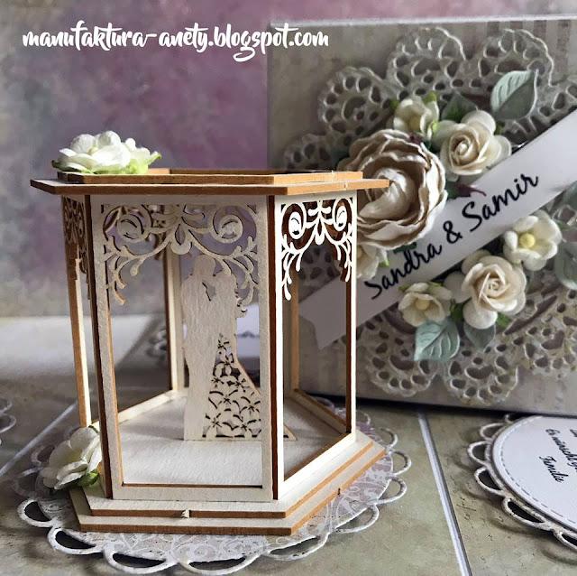 Exploding box na rocznicę ślubu