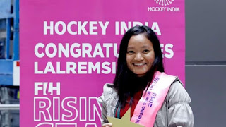 Lalremsiami: 2019 FIH Women's Rising Star of the Year