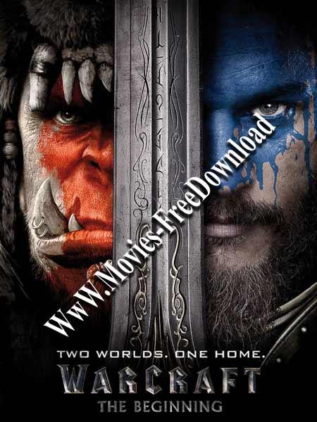 Warcraft 2016 HINDI DUBBED x264 480p BluRay 360MB Poster