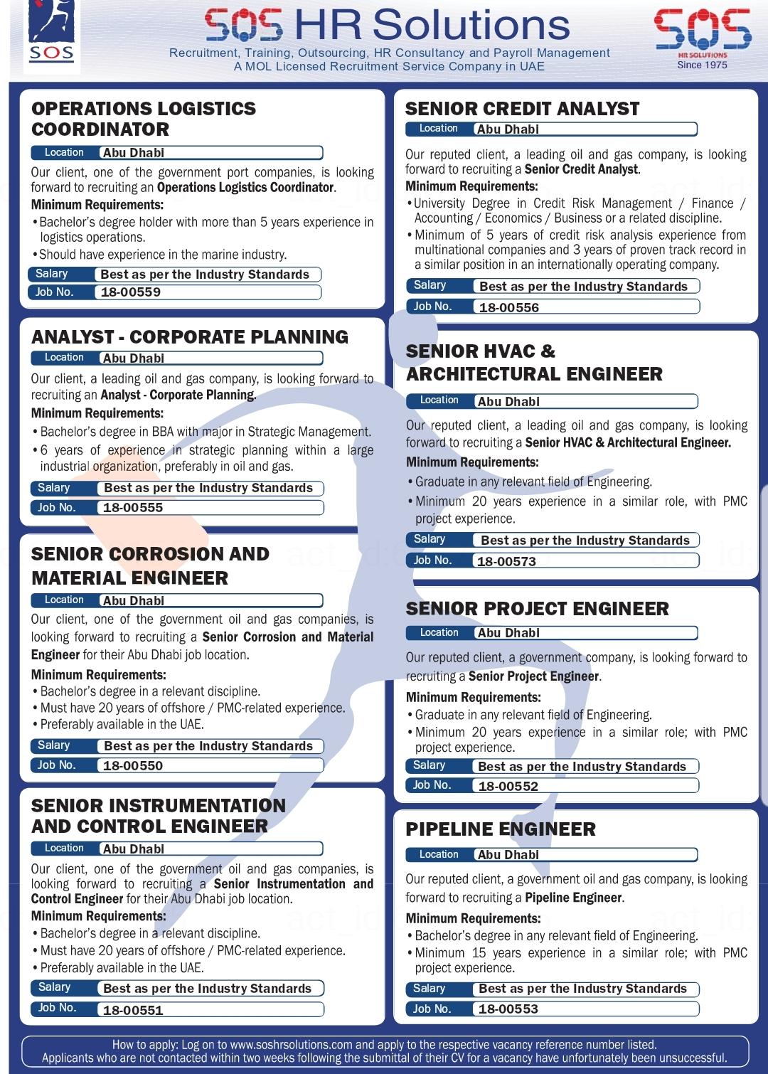 SOS HR Solution Recruiting Training HR Consultant UAE Local