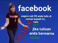 Ketik BFF Untuk Mengecek Keamanan Akun Facebook Adalah Hoaks,Begini Penjelasannya