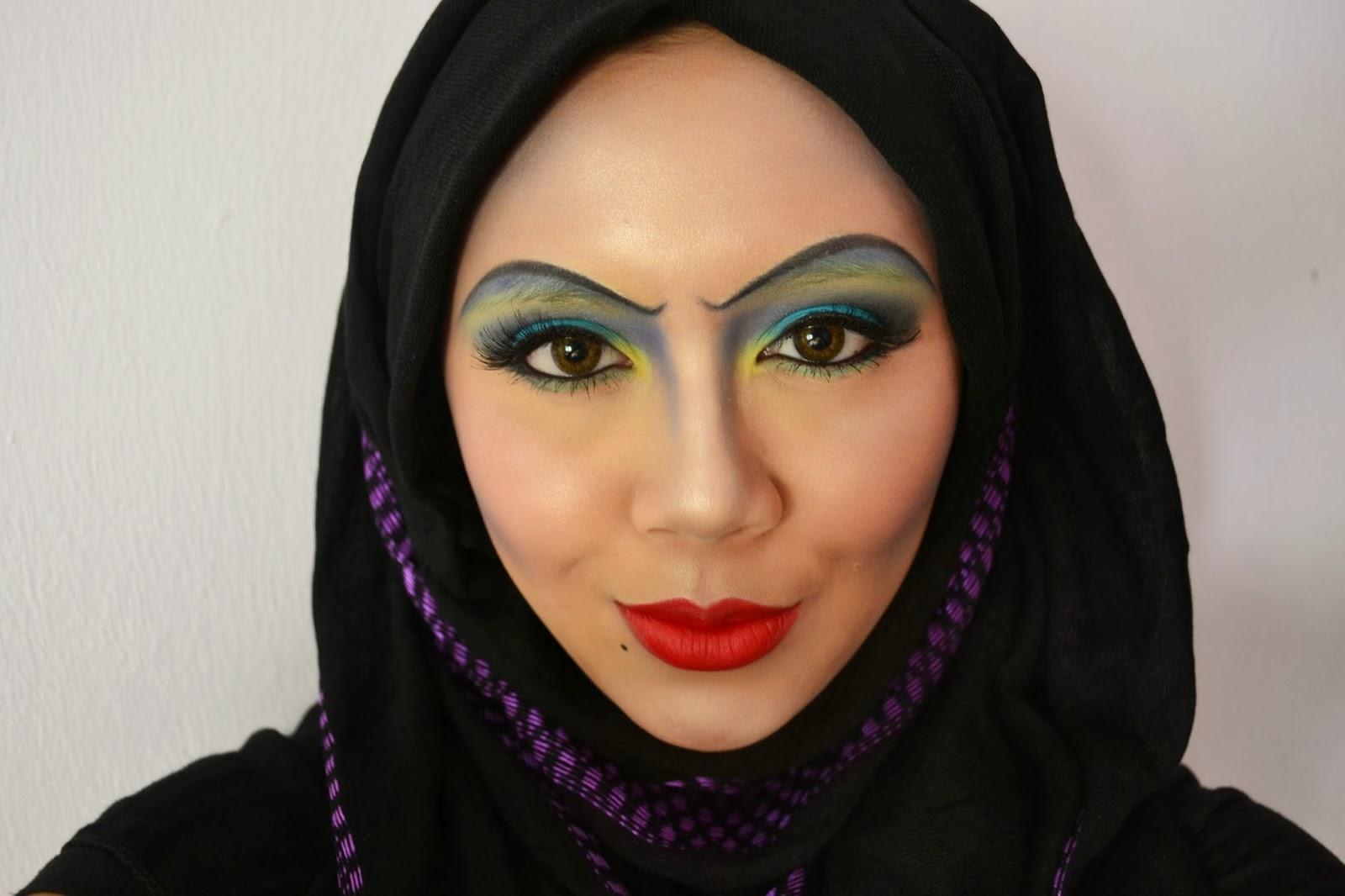 Pink Marshmallow Halloween Disney Villain S Ursula Makeup Inspired