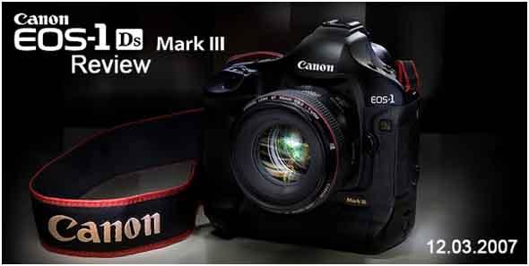 Canon EOS-1Ds Mark III DSLR Camera