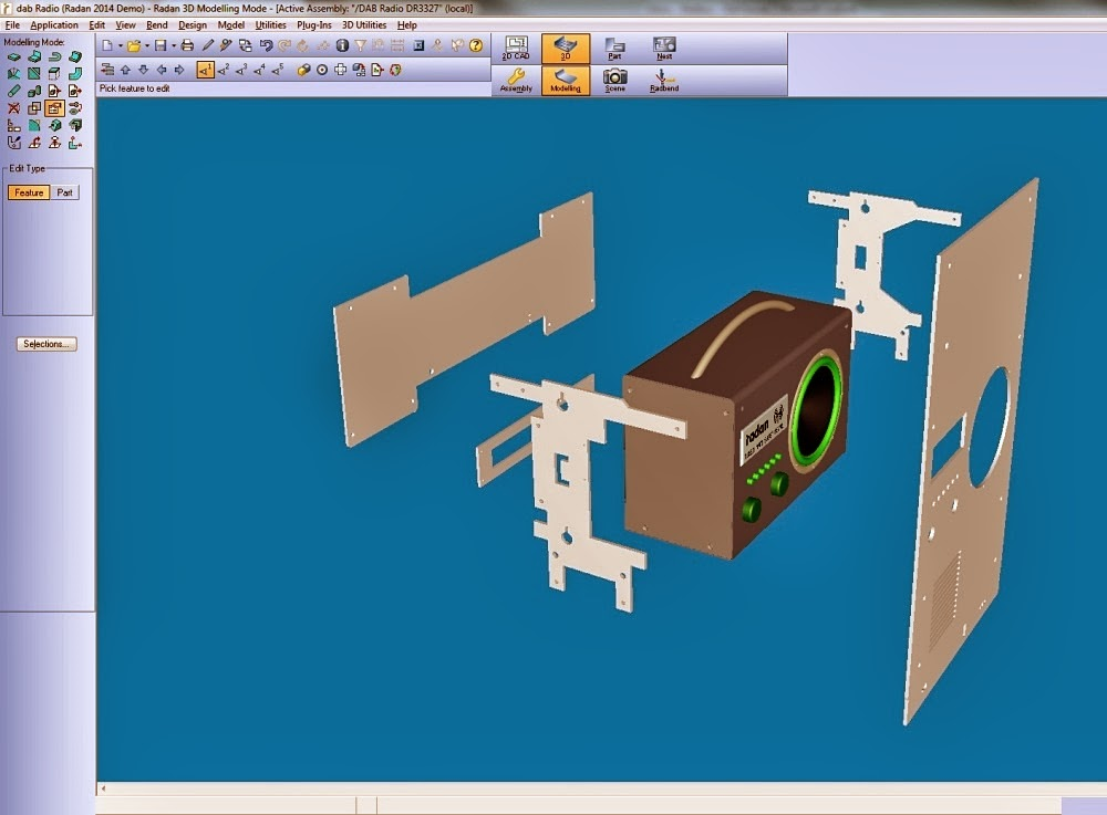SimplyCAD: Radan 2014 Released for Sheet Metal Applications
