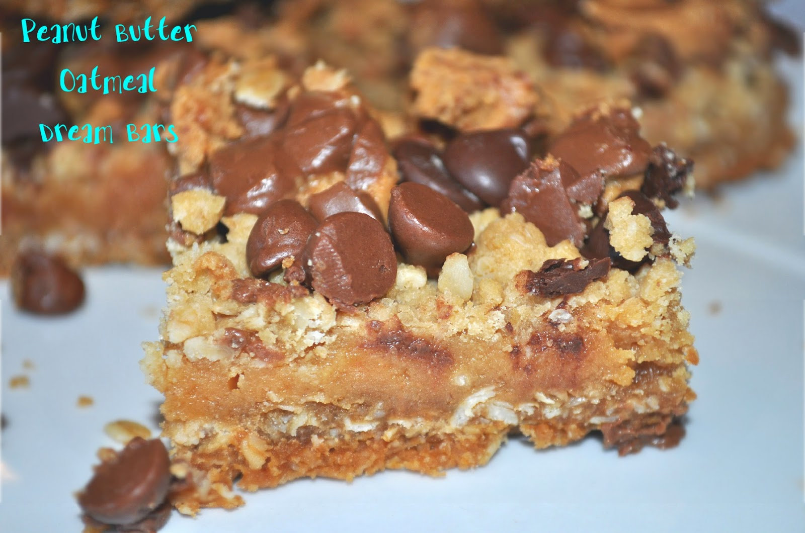 Fit Momma Foodie Peanut Butter Oatmeal Dream Bars
