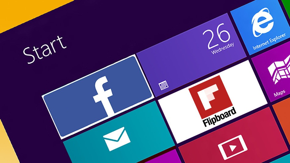 During the Build conference, Microsoft announced that it will now offer apps Facebook and Flipboard on Windows 8