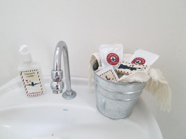 kit Banheiro festa aniversário viagem
