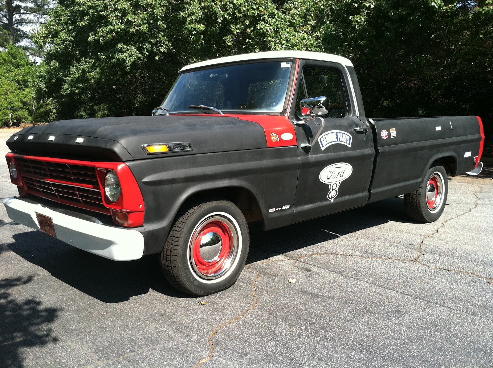 My 1968 Ford F100 Longbed Rat Rod: 1968 Ford F100 Long Bed