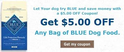 Blue Dog Food Printable Coupons