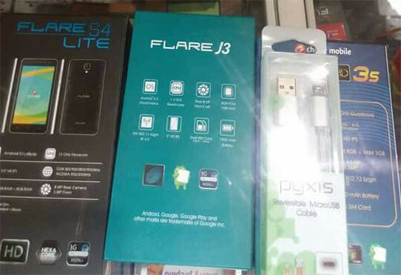 Cherry Mobile Flare J3 Leaks, Equipped With Fingerprint Scanner For 2999 Pesos!
